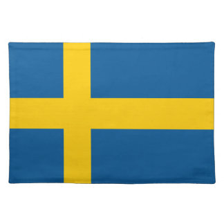 Sweden Flag Place Mats