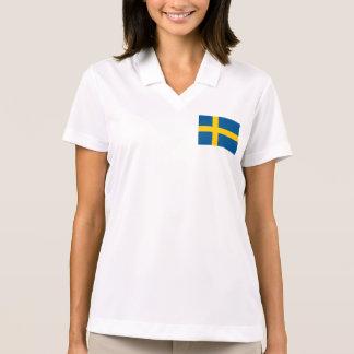 Sweden Flag Polo Shirt