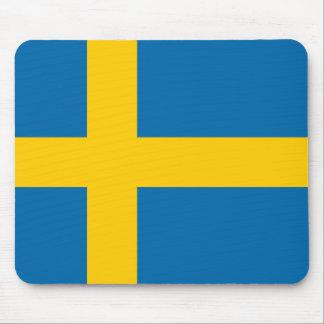 Sweden flag quality mouse mat