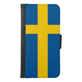 Sweden Flag Samsung Galaxy S6 Wallet Case