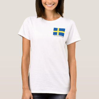 Sweden flag tshirt