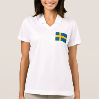 Sweden Flag Polo T-shirts