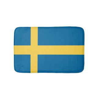 Sweden Flag Bath Mats