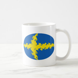 Sweden Gnarly Flag Mug