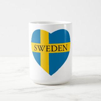SWEDEN HEART COFFEE MUG