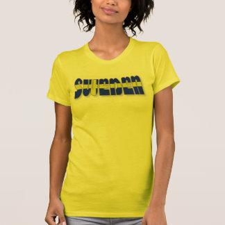 Sweden in Flag Lettering T-Shirt