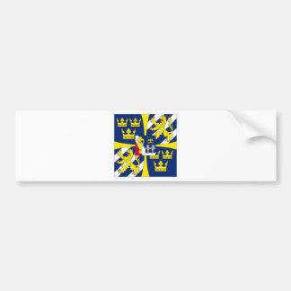 Sweden Kings Personal Standard Bumper Sticker