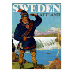 Sweden ~ Lappland Postcard