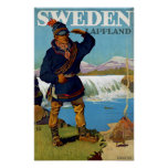 Sweden ~ Lappland Poster