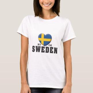 Sweden Love C T-Shirt