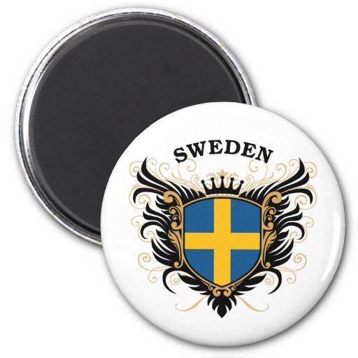 Sweden Fridge Magnet