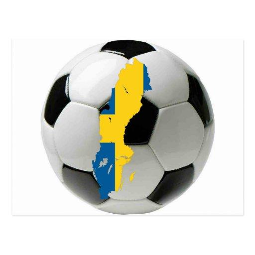 Sweden national team postcard