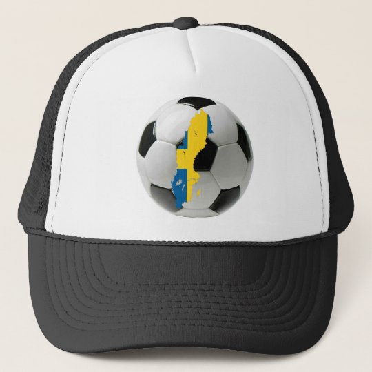 Sweden national team trucker hat