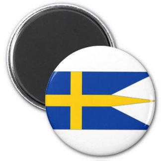 Sweden Naval Ensign Refrigerator Magnet