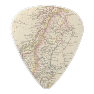 Sweden, Norway 2 2 Acetal Guitar Pick