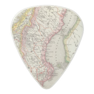 Sweden, Norway 2 Acetal Guitar Pick