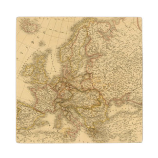 Sweden, Norway, and Demark Wood Coaster