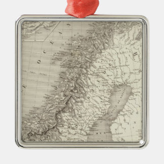 Sweden, Norway, and Denmark Christmas Ornament