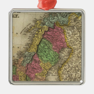 Sweden & Norway Christmas Ornament