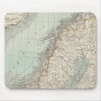 Sweden, Norway, Denmark 2 Mouse Mat