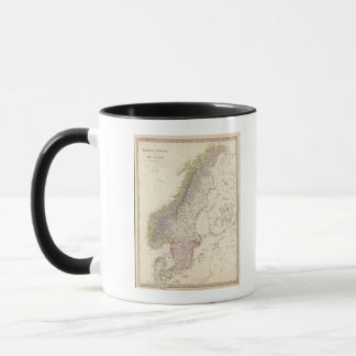 Sweden, Norway, Denmark 3 Mug