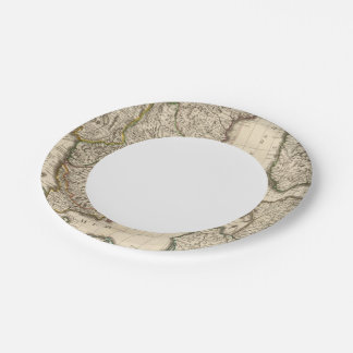Sweden, Norway, Europe 2 Paper Plate