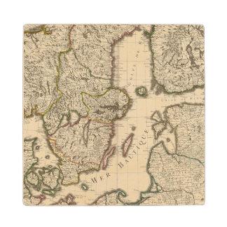 Sweden, Norway, Europe 2 Wood Coaster