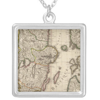 Sweden, Norway, Europe Silver Plated Necklace