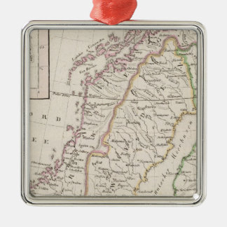 Sweden, Norway, Iceland Christmas Ornament