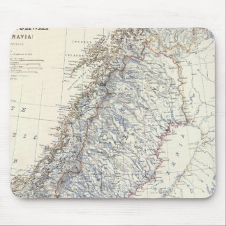 Sweden, Norway Mouse Mat