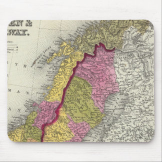 Sweden & Norway Mouse Mat