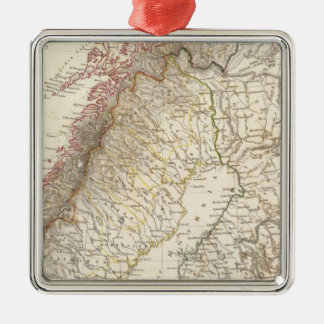 Sweden & Norway, northern, Russia Christmas Ornament