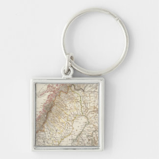 Sweden & Norway, northern, Russia Key Ring