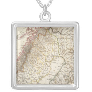 Sweden & Norway, northern, Russia Silver Plated Necklace