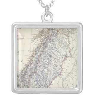 Sweden, Norway Silver Plated Necklace
