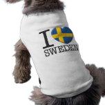 Sweden Pet Shirt