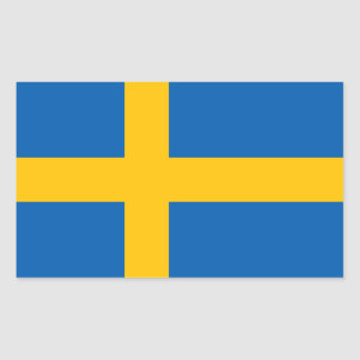 Sweden Rectangular Sticker