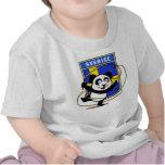 Sweden Rhythmic Gymnastics Panda Shirt