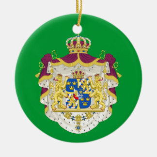 SWEDEN - Royal Christmas Custom Ornament