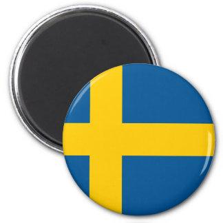 Sweden SE 6 Cm Round Magnet