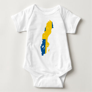 Sweden SE Baby Bodysuit