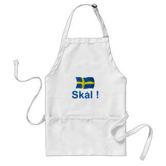 Sweden Skal! Apron