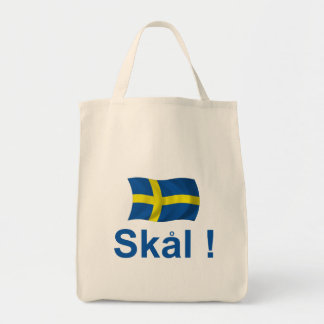 Sweden Skal! Tote Bag