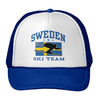 Sweden Ski Team Cap