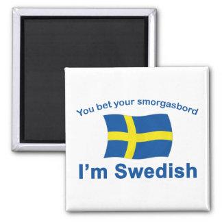 Sweden Smorgasbord 1 Fridge Magnets