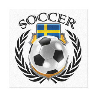 Sweden Soccer 2016 Fan Gear Canvas Print
