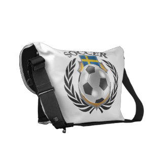 Sweden Soccer 2016 Fan Gear Messenger Bag