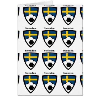 Sweden Soccer Card