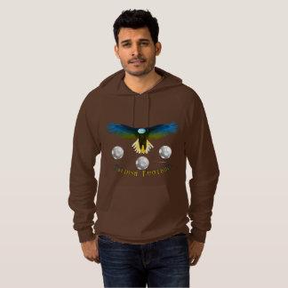 Sweden Soccer Eagle Men's Raglan Sweatshirt