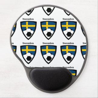 Sweden Soccer Gel Mouse Pad